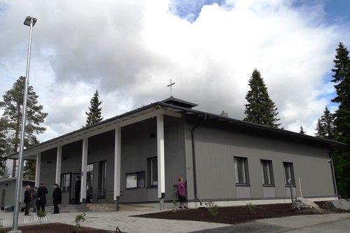 Ylikiimingin uusi seurakuntatalo  Oulun seurakunnat