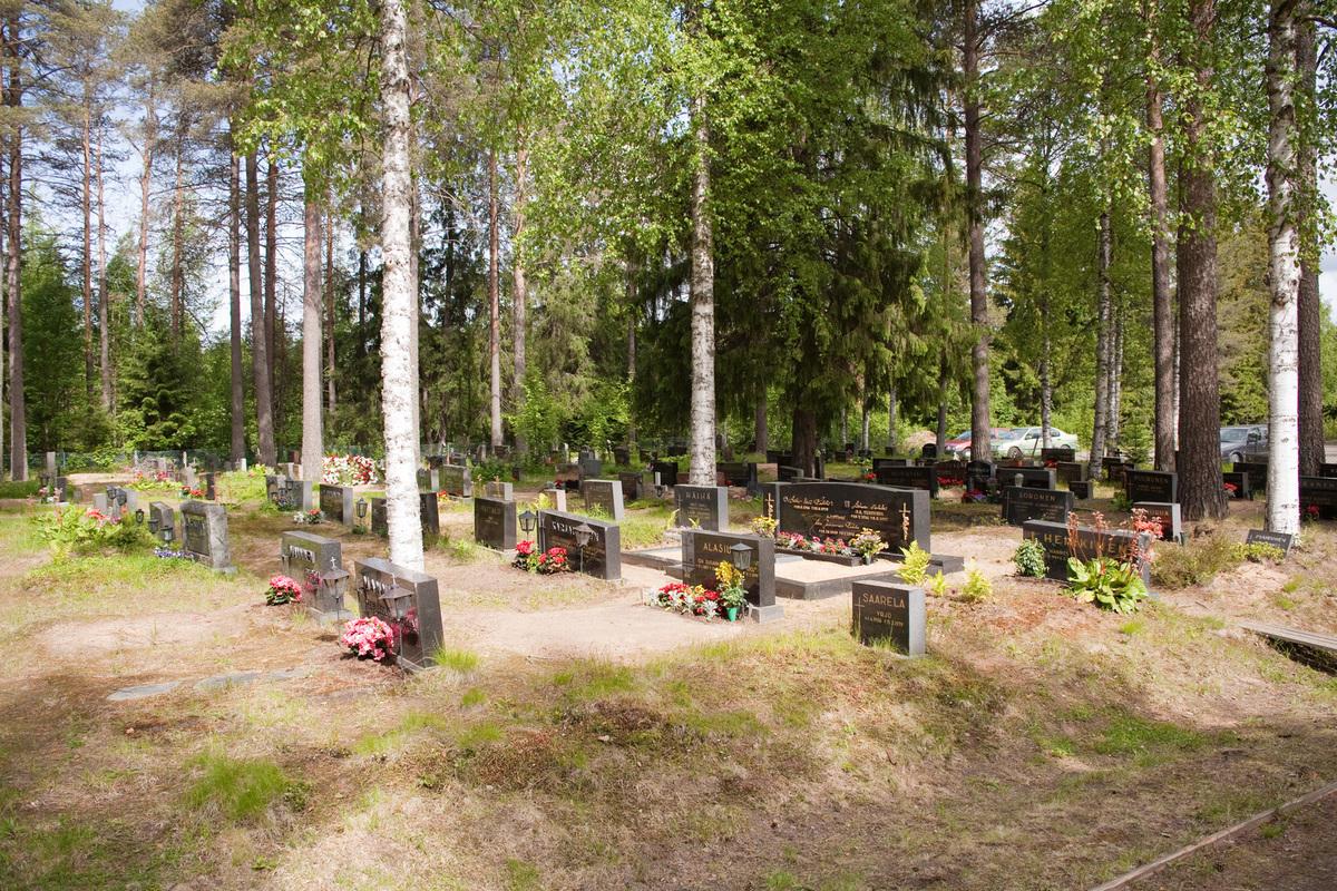 Yli-Iin kirkonkylän hautausmaa